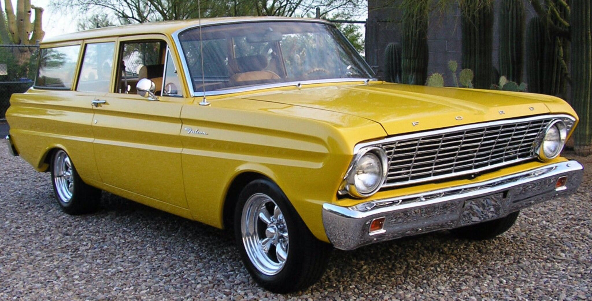 1964 Ford Falcon 2 Door Wagon With Images Ford Falcon