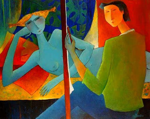 Resultado de imagen para Pinturas de Françoise Collandre