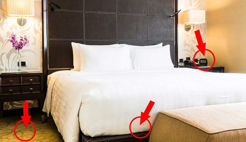 Be Careful Of Bugs Hide Outs Bed Bugs Bed Under Bed