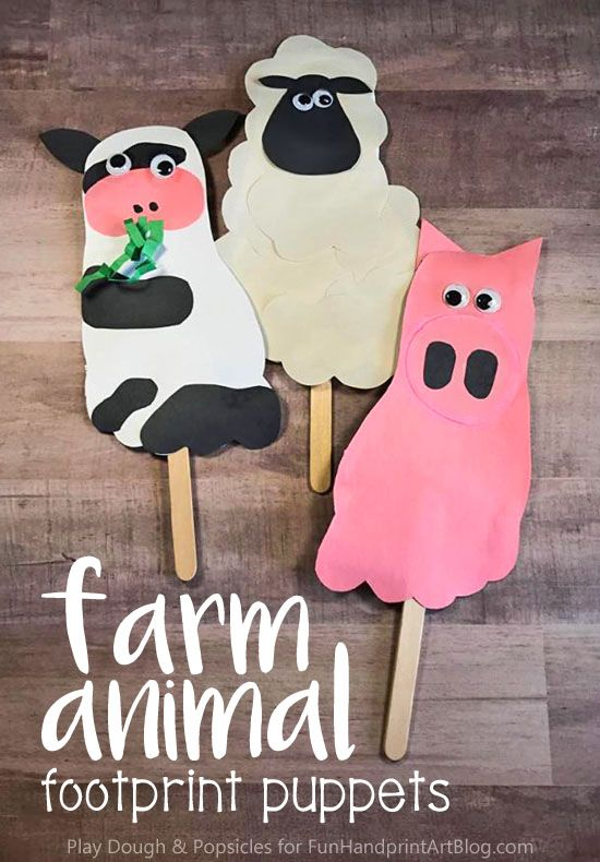 how to make animal puppets