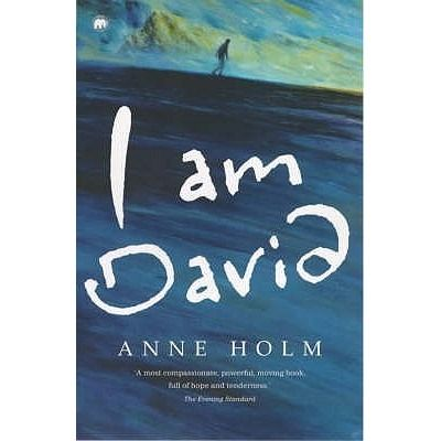 I Am David by Ann Holm. Found in face out fiction under H. David's entire twelve-year life has been spent in a grisly prison camp in Eastern Europe. He knows nothing of the outside world. But when he is given the chance to escape, he seizes it. With his vengeful enemies hot on his heels, David struggles to cope in this strange new world, where his only resources are a compass, a few crusts of bread, his two aching feet, and some vague advice to seek refuge in Denmark. Is that enough to…