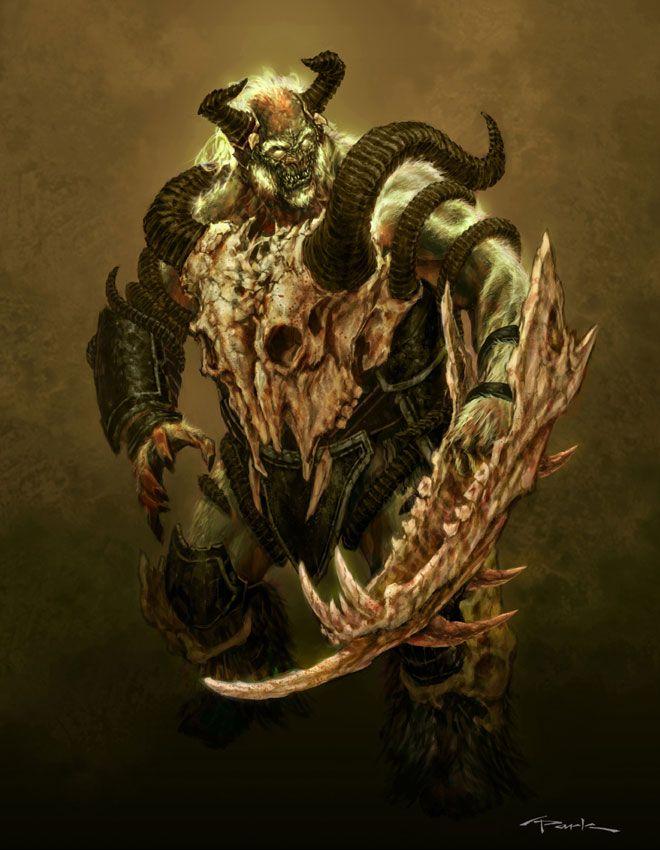 Large Grunt God Of War Ii Art Pictures Pinterest Character