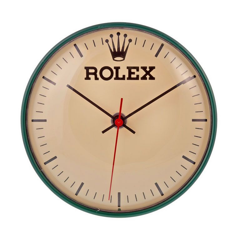 Rolex 1960s Plug In Wall Clock Mid Century Cool The Must Have Accessory For The Vintage Rolex Enthusiast In Your Life 10 I Clock Wall Clock Objects Design