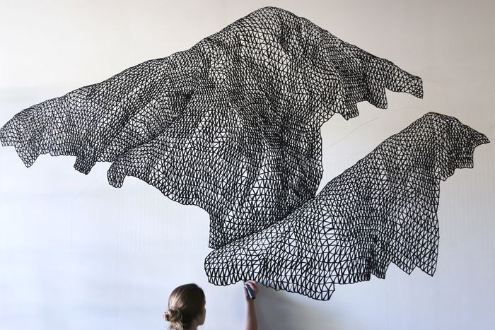 Markers Make Mountains in the Work of This Midwestern Artist | The Creators Project