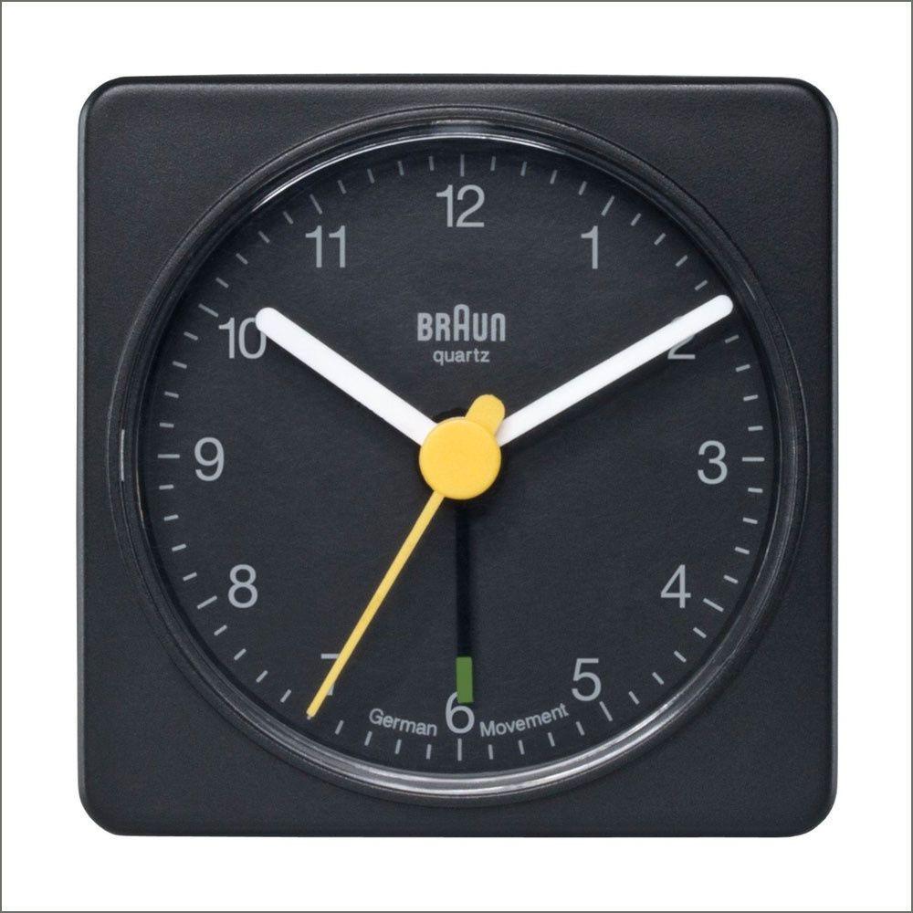Braun Travel Alarm Clock Ab1a Black By Dieter Rams 11 Main Braun Alarm Clock Travel Alarm Clock Analog Alarm Clock