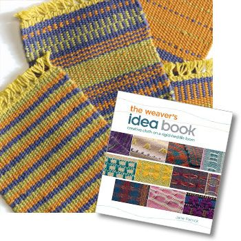 Make Mug Rugs With Rigid Heddle Looms Weaving Book Cotton Clouds Rigid Heddle Weaving