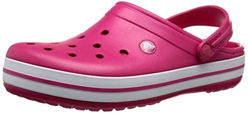 crocs Unisex-Erwachsene Crocband Clogs, Violett (Vibrant Violet), 45/46 EU