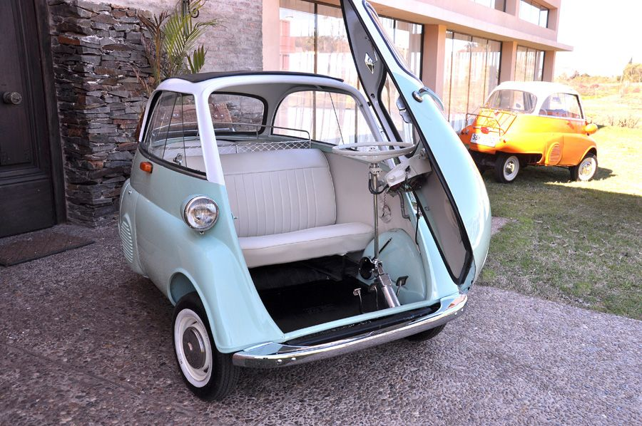 1960 old photos | BMW Isetta 300cc, Model: Export USA 1960 year ...