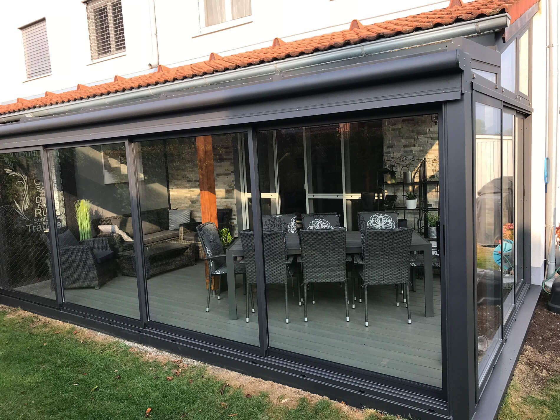 Große Glastüren für Wintergarten in 2020 Sommergarten