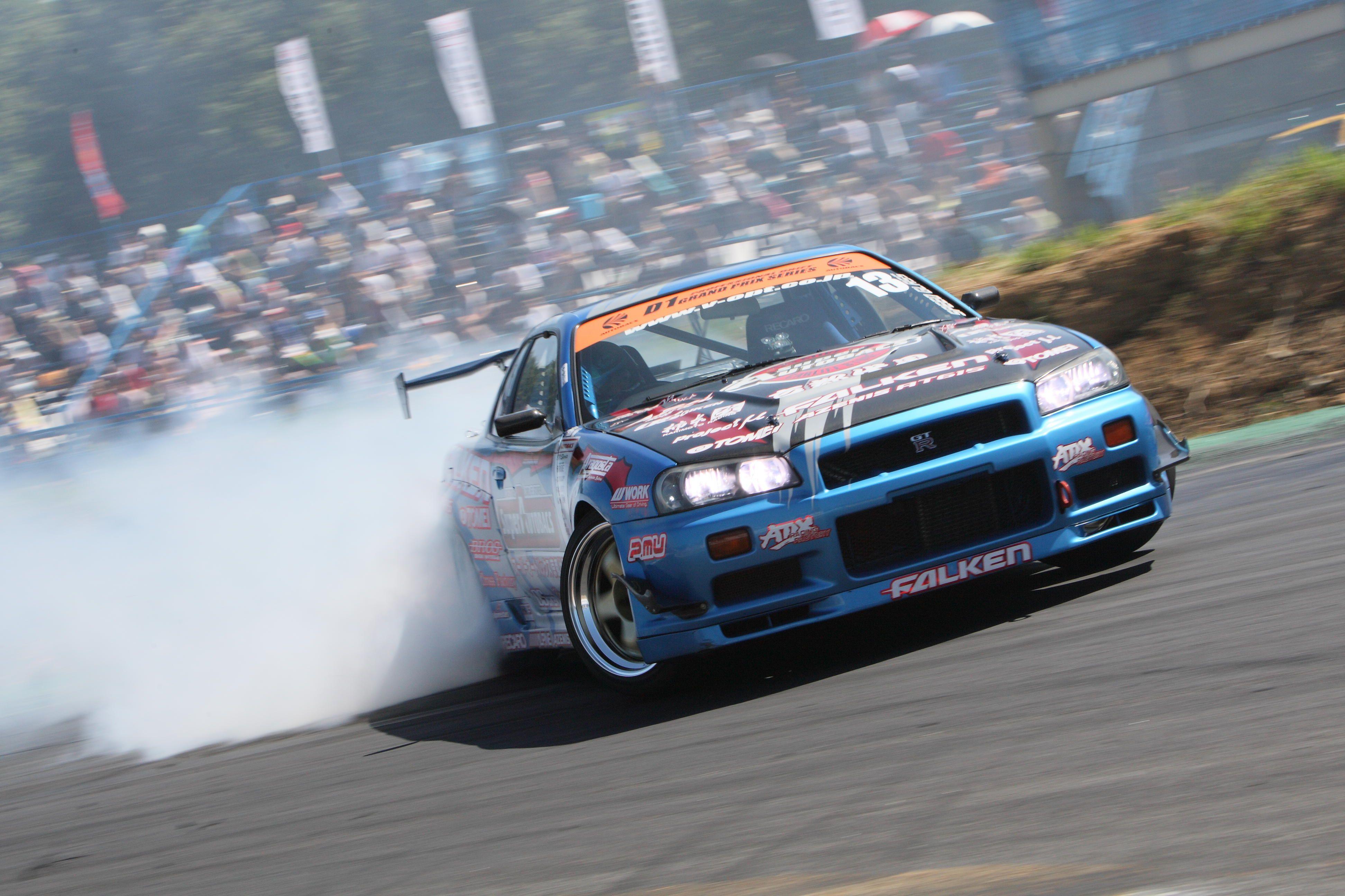 Cars drift nissan nissan skyline gtr r34 3888x2592 wallpaper