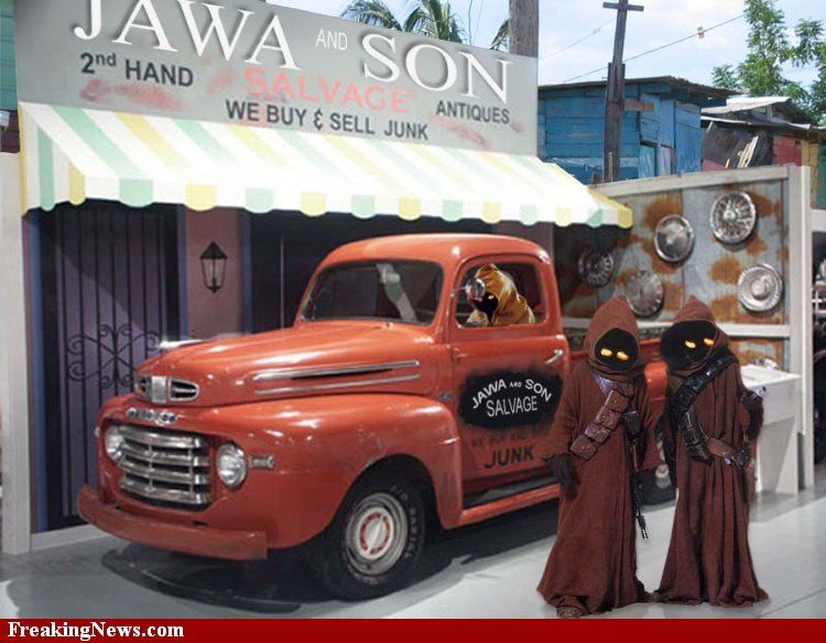 Jawa S Rule Sanford And Son Tv Cars Famous Vehicles