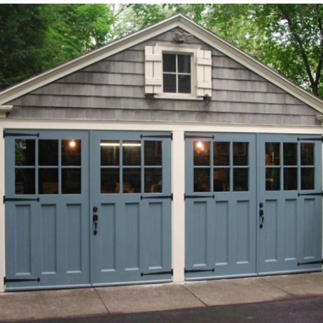 54 Cool Garage Door Design Ideas Pictures: Cool. Pretty Garage Doors. Who Knew?