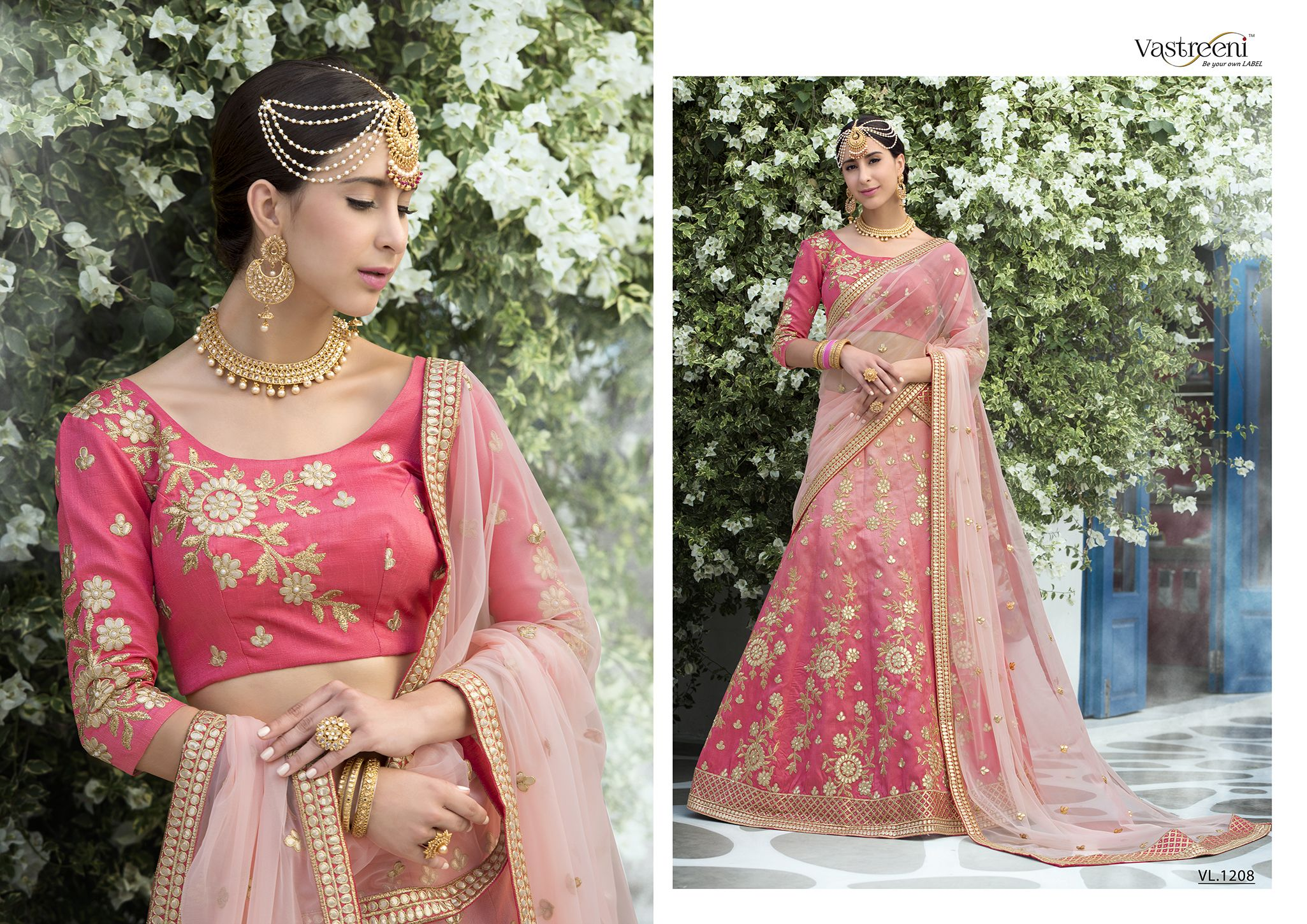 00d8120984 Shop Pure Gota Patti Bridal Lehenga Vastreeni Online with the best price.  Flaunt latest styled cuts and look with these Indian Dresses, Give yourself  the ...