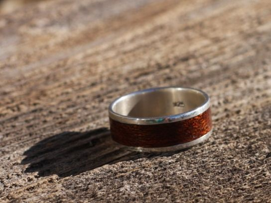 $150-200 Bojit Studio handcrafted bent wood ring. Custom for someone special!