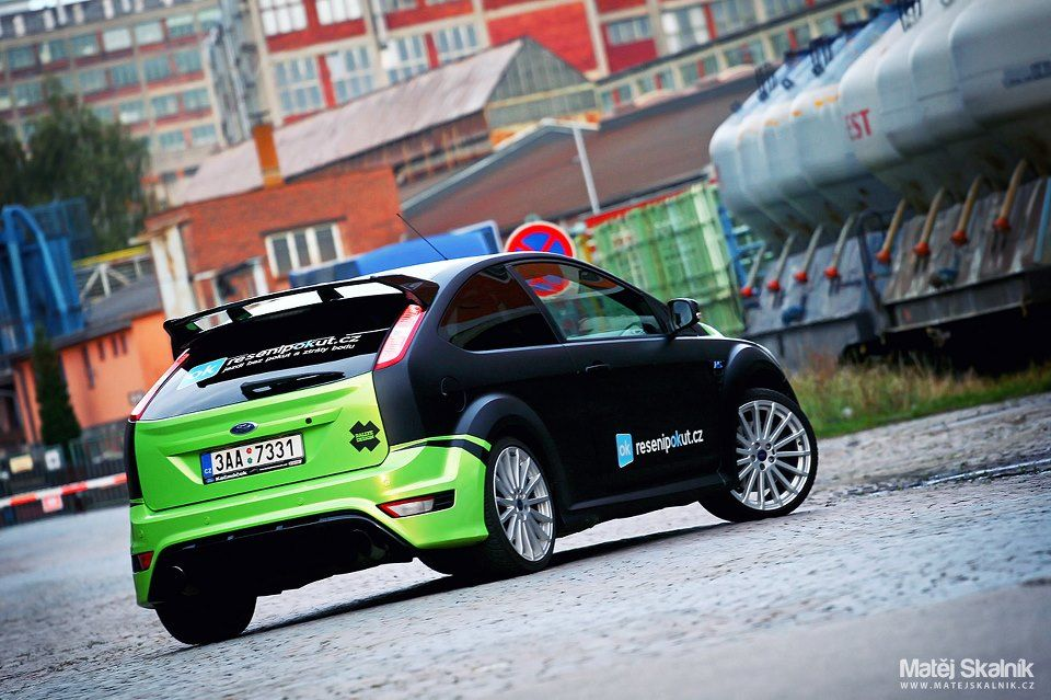 Ford Focus RS wrap modification 2013.