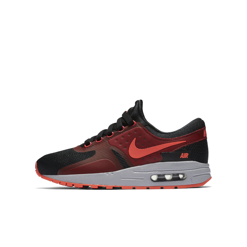 Nike Air Max Zero Essential Big Kids' Shoe Size 3.5Y (Black