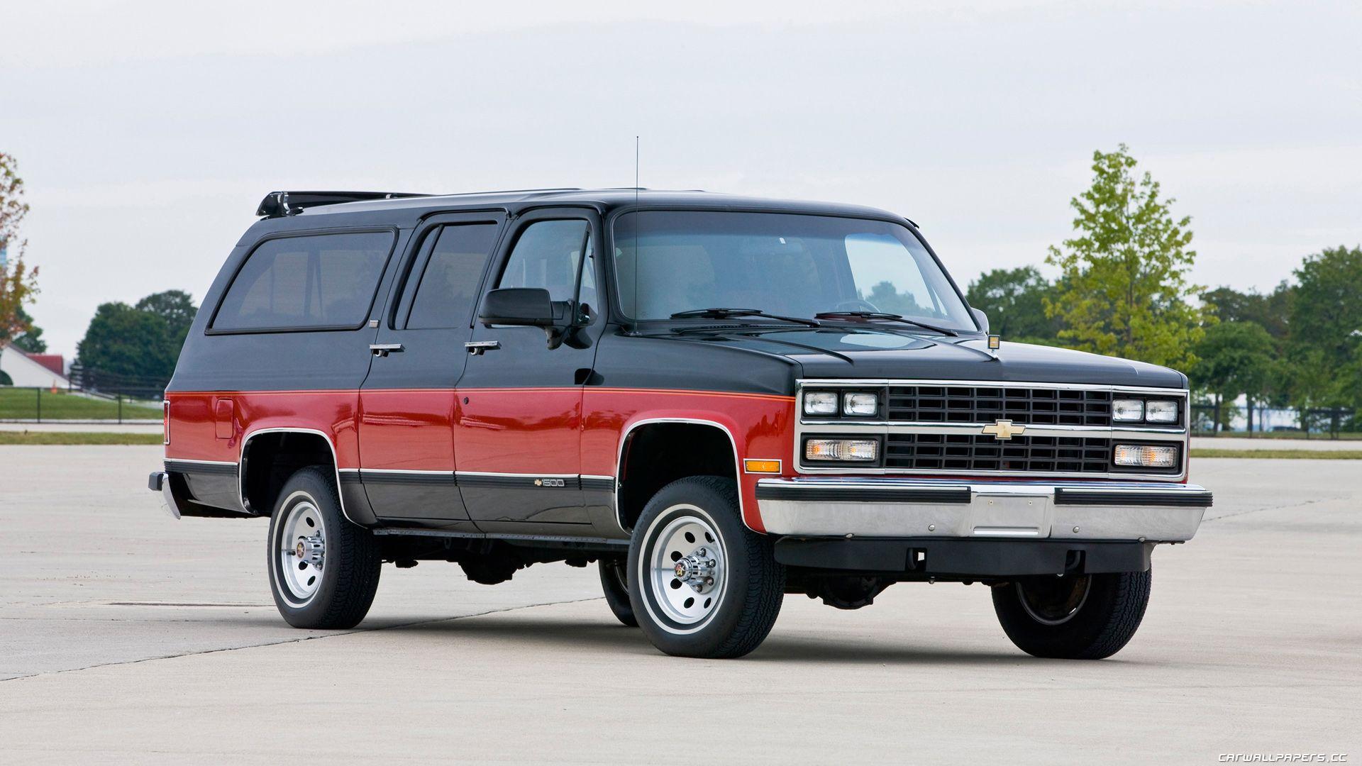 1990 Chevrolet Suburban 1500 Chevy Trucks