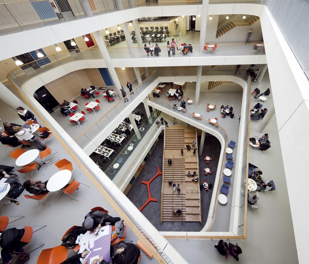 Atrium City Of Westminster College Student House Atrium