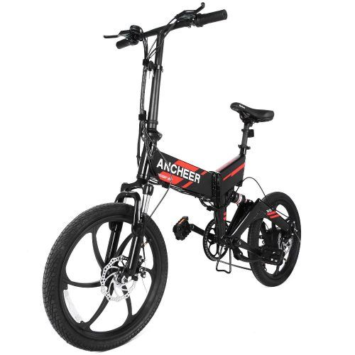 Ancheer 2018 Waterproof Folding Electric Bike