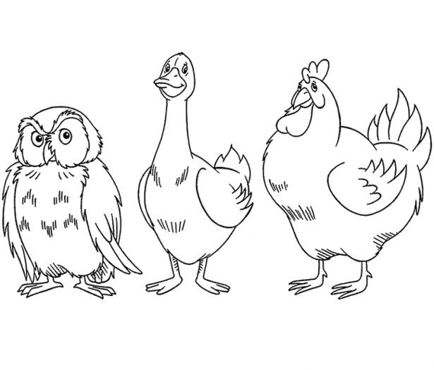 So I Like This One For Some Reason Bird Coloring Pages Bear