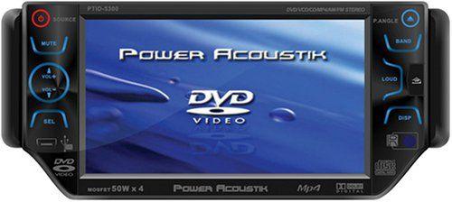 special offers power acoustik ptid 5300 5 3 inch widescreen touch rh pinterest com Power Acoustik Double Din Power Acoustik Speakers