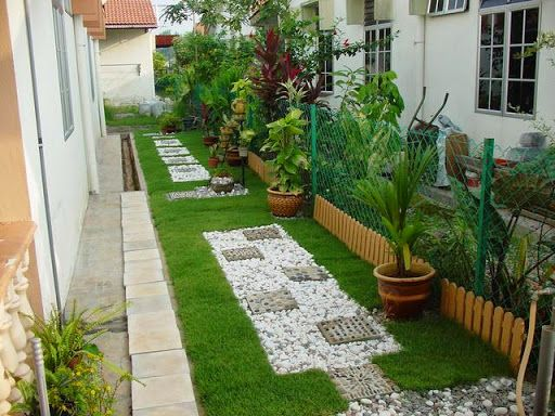 Making Small And Low Budget Landscape In Backyard Small Backyard Landscaping Backyard Landscaping Cottage Front Garden