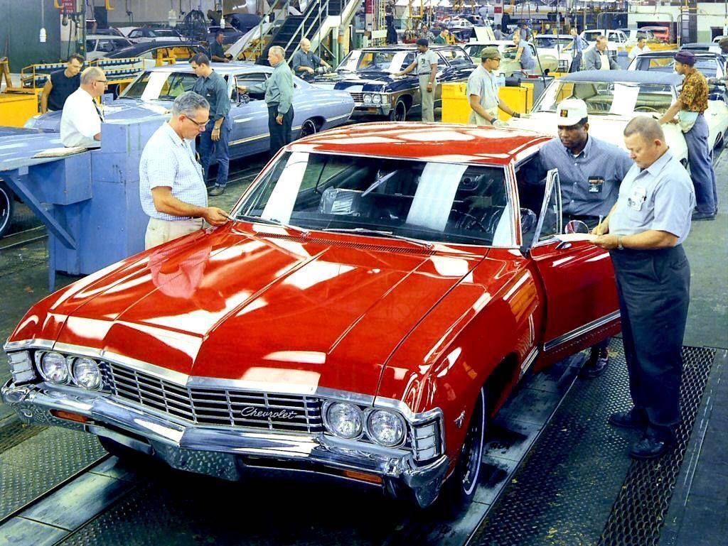 1967 Impala Assembly Final Inspection Chevrolet Impala 1967