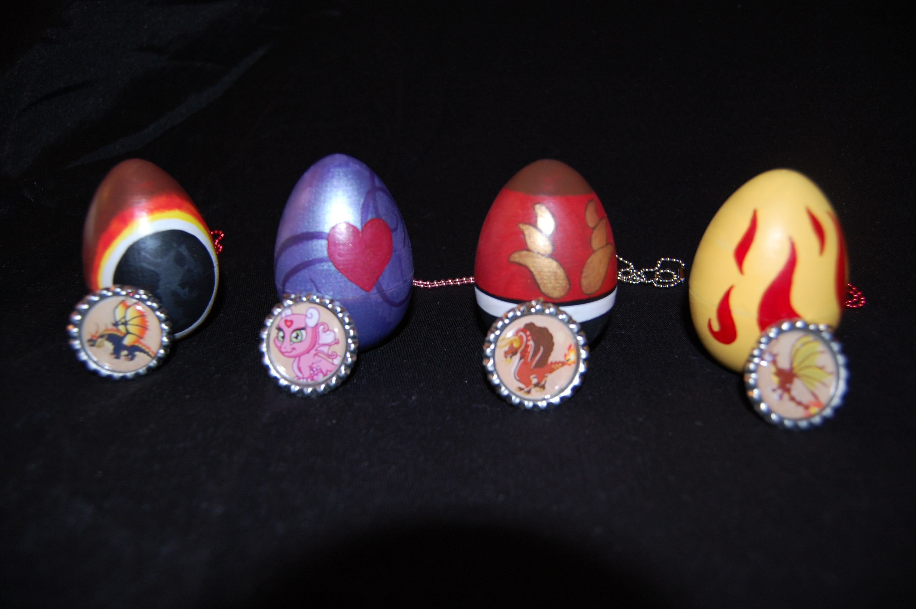 Dragonvale Birthday Party Favors Handpainted Eggs That Open And Bottlecap Necklaces Birthday Party Favors Stuffed Toys Patterns Birthday Parties
