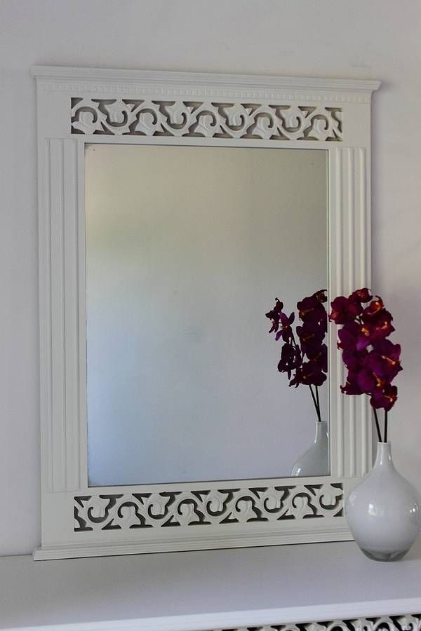 White Wall Mirror White wall mirrors Walls and Bedrooms