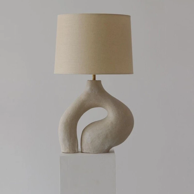 Arturest Table Lamp Nordic Art Table Lamp Bedroom Bedside Lamp In 2021 Table Lamps For Bedroom Art Table Lamps Lamp