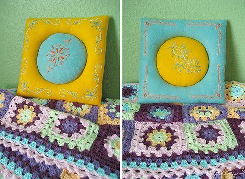 reversible flip pillow