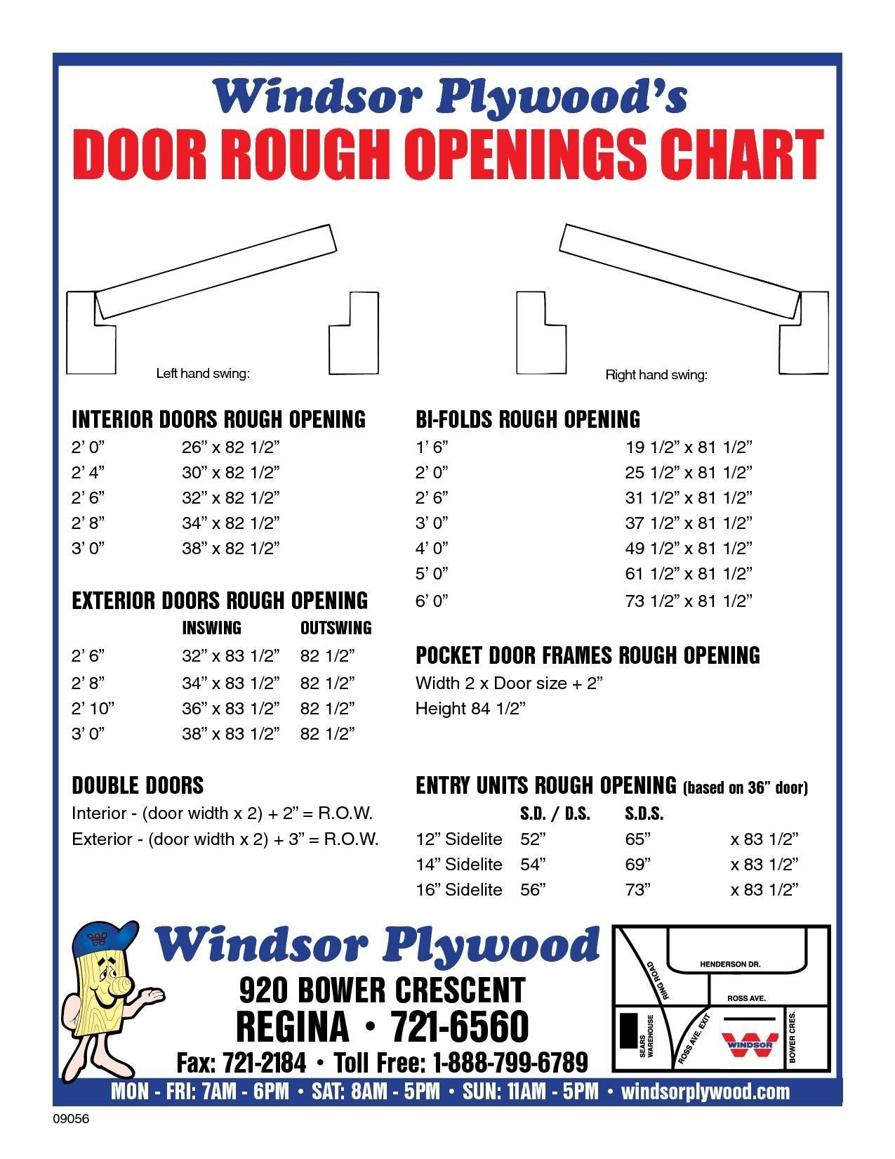 Closet Bifold Door Rough Opening Garage Door Sizes Bifold