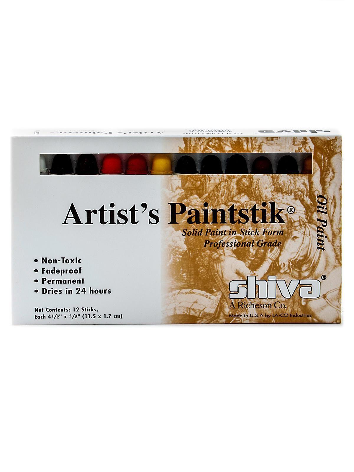 Shiva Artist S Paintstik Oil Color Sets Affiliate
