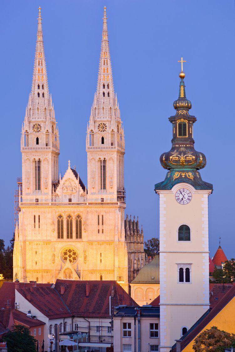 Sights In Zagreb Croatia Croatia Croatia Travel Croatia Images