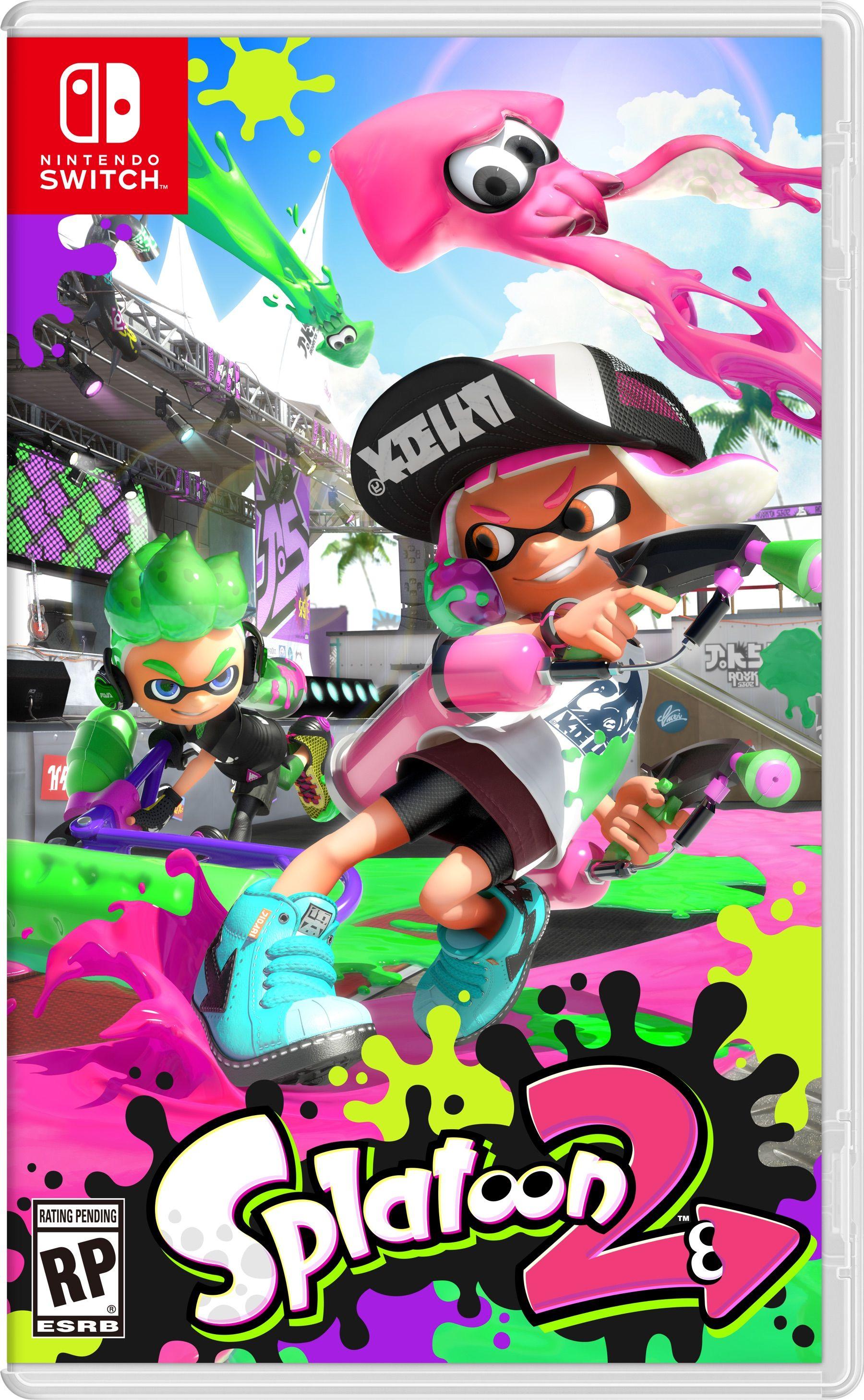 Splatoon 2 - Nintendo Switch | Nintendo Switch fun time | Nintendo