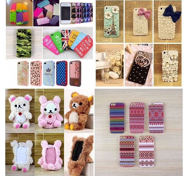 A LOT of iPhone cases!