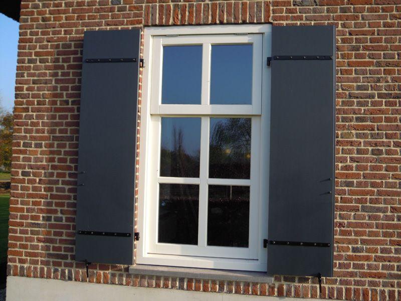 Spiksplinternieuw raam met luiken - Google zoeken (met afbeeldingen)   Ramen met XQ-54