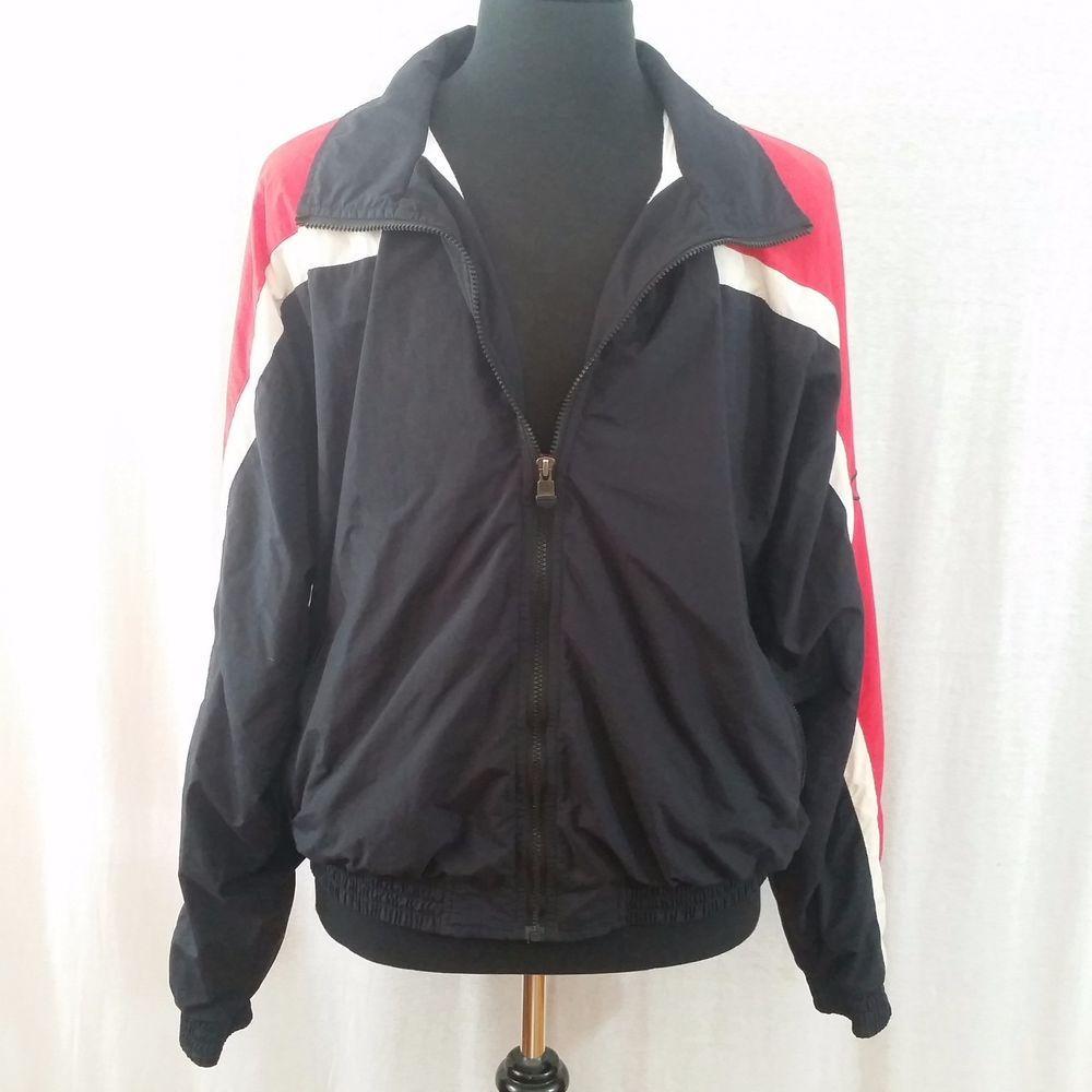 Vintage Champion windbreaker - lightweight jacket - Disney Jacket - Micky Mouse - Casual jacket - Black Jacket - 90s - vintage champion - xl 1oDKl6zbR