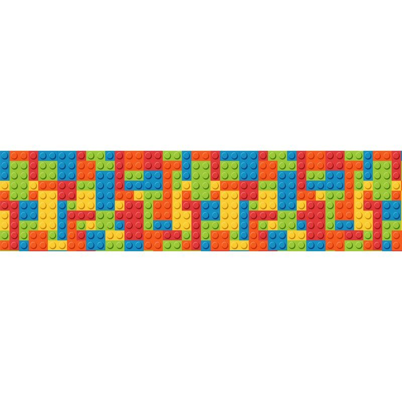 lego room border wall sticker | home ideas | lego room, lego wall