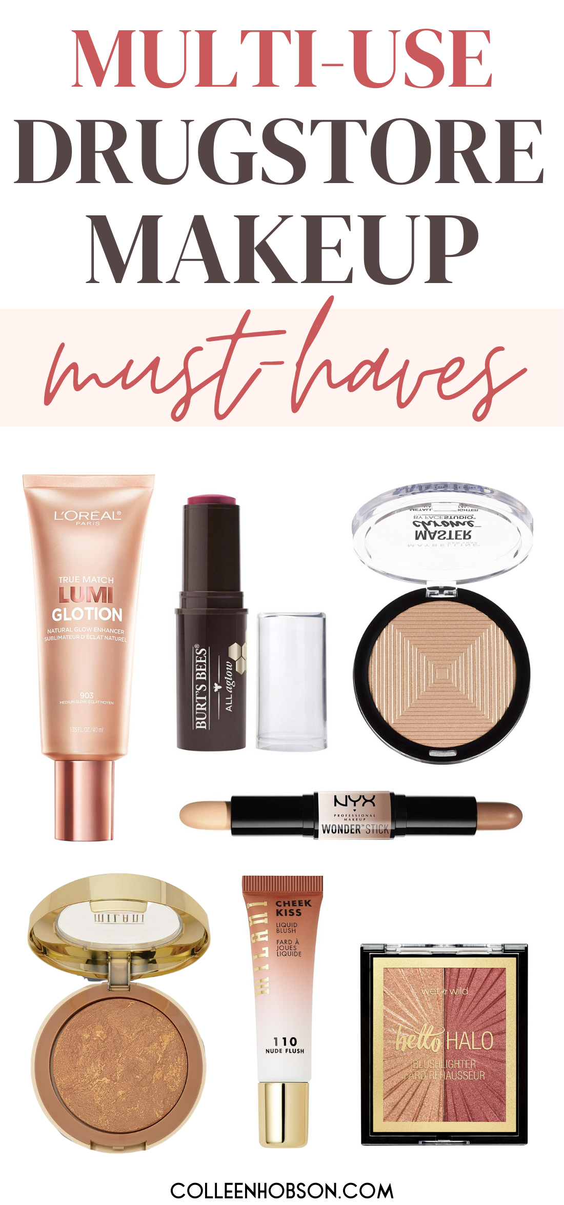 The Best Multi-Use Drugstore Makeup Products
