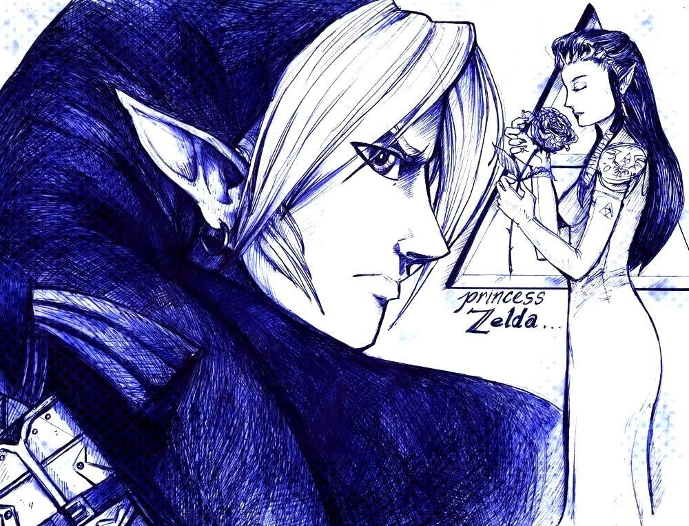favourite Nintendo duo: Link and Zelda. -My favourite Nintendo duo: Link and Zelda. -  123RF - Mill