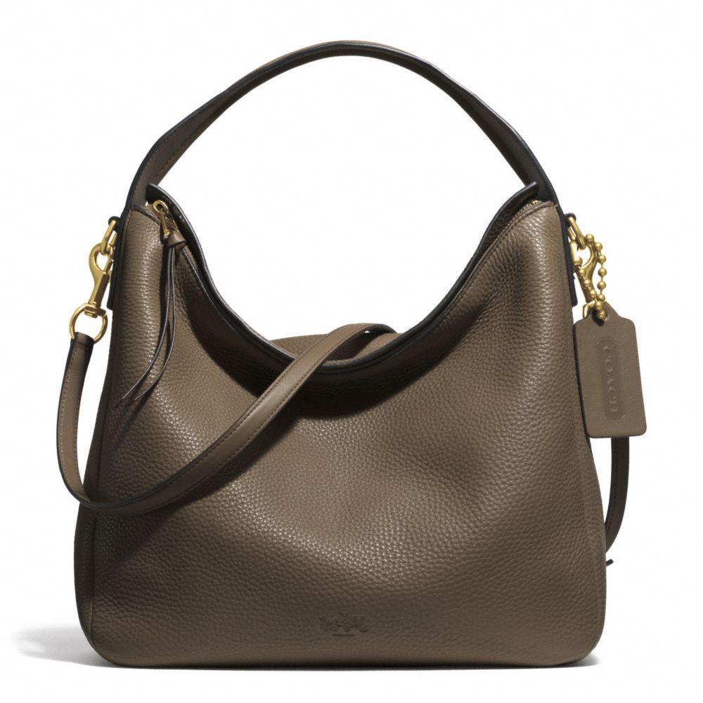 bleecker sullivan hobo in pebbled leather handbag pinterest rh pinterest com