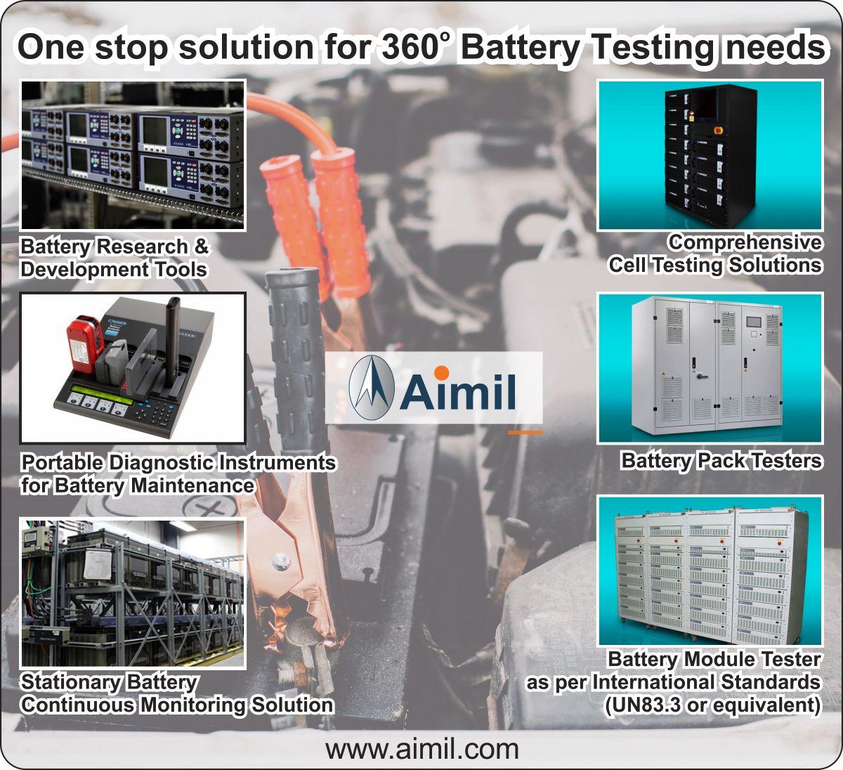 One stop solution for 360 deg battery testing needs