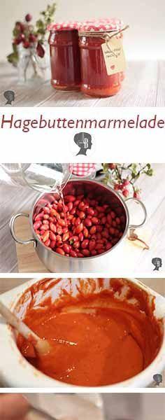 DIY: Hagebuttenmarmelade kochen - arianebrand #diyfood