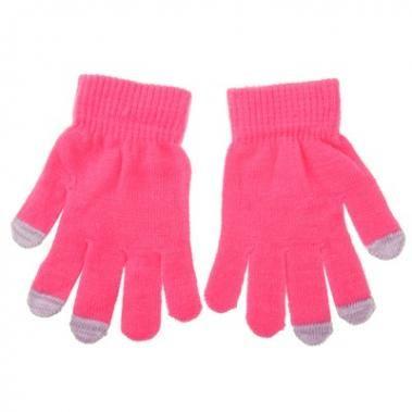 Tablet Touchscreen Handschuhe in pink M/L f. Blackberry Z10