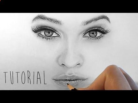 Pencil Portrait Tutorial Youtube
