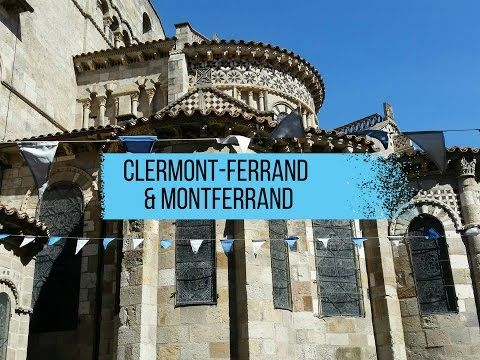 Travel diary video ClermontFerrand Montferrand Auvergne France