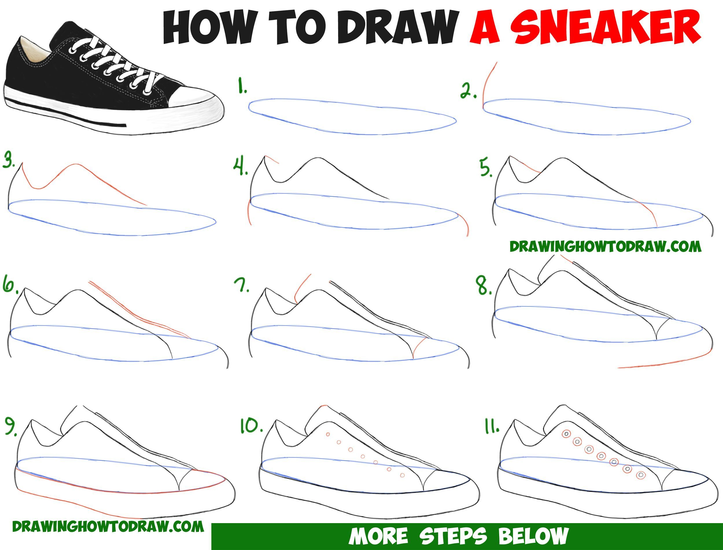 the latest 9fbf4 a2791 how to draw vans scarpe step by step