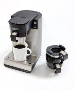 Amazon Com Bunn Mcu Single Cup Multi Use Home Coffee Brewer Kitchen Dining Single Cup Coffee Maker Bunn Coffee Maker Bunn Coffee