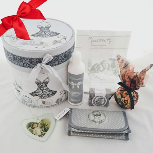 Cadeau Noël #22 🎅🎄 Mathilde M Serviette Crème douche Savon